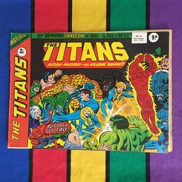 MARVEL The Titans Comics/マーベル ザ・タイタンズ コミック/160404-8