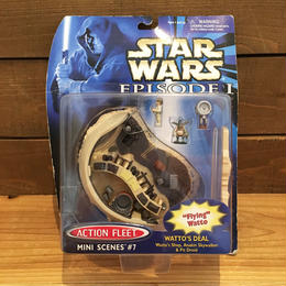 STAR WARS Action Fleet Watto's Deal Playset/スターウォーズ アクションフリート ワトーズ・ディール プレイセット/180329-4