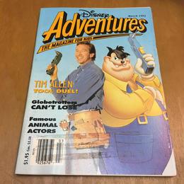 Disney Disney Adventures 1993 March/ディズニー ディズニーアドベンチャー 1993年 3月号/170909-6