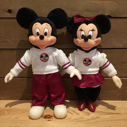Disney Mickey & Minnie Doll Set/ディズニー ミッキー & ミニー ドールセット/180728-10