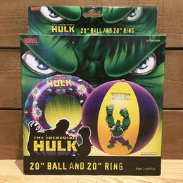 HULK Ball & Ring Set/ハルク ビーチボール & 浮き輪 セット/180728-7