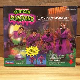 TURTLES Mutations Splinter Figure/タートルズ ミューテーション スプリンター フィギュア/180222-3