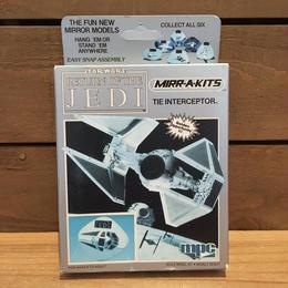 STARWARS Mirr-a-kits Tie Interceptor/スターウォーズ ミラーキッツ タイ・インターセプター/180910-8