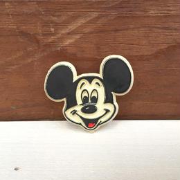 Disney Mickey Mouse Plastic Pin/ディズニー ミッキー・マウス プラスチックピン/171215-14