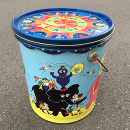 BARBAPAPA Tin Bucket/バーバパパ ティンバケツ/170512-1