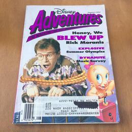 Disney Disney Adventures 1992 August/ディズニー ディズニーアドベンチャー 1992年 8月号/170909-4