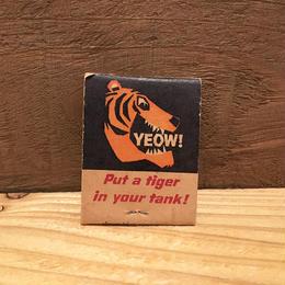 Esso Tiger Match Book/エッソ タイガー マッチ/1806015-1