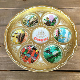 Disney Disneyland Metal Drink Tray/ディズニー ディズニーランド メタルドリンクトレイ/170221-6