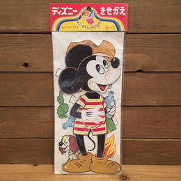 Disney Mickey Mouse Paper Doll/ディズニー ミッキー・マウス きせかえペーパードール/180202-1