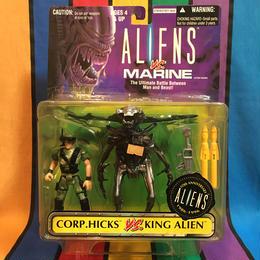 ALIENS Corp.Hicks VS King Alien/エイリアン ヒックスVSキングエイリアン フィギュア/160204-6