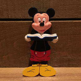 Disney Mickey Mouse Figure Book Marker/ディズニー ミッキーマウス フィギュアブックマーカー/181005-18