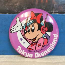 Disney Tokyo Disneyland Button/ディズニー 東京ディズニーランド 缶バッジ/171013-1