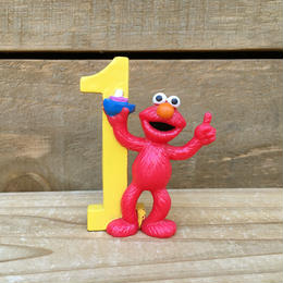 SESAME STREET Elmo PVC Figure/セサミストリート エルモ PVCフィギュア/170914-3