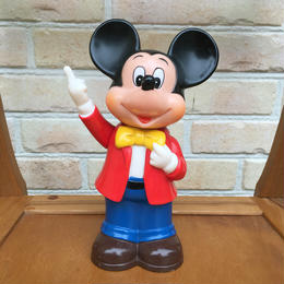 Disney Mickey Mouse Plastic Bank/ディズニー ミッキー・マウス 貯金箱/170811-2