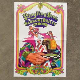 Ringling Bros. and Barnum & Bailey Circus Poster/バーナムのサーカス ポスター/180720-11
