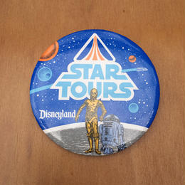 STAR WARS Star Tours Button/スターウォーズ スターツアーズ 缶バッジ/170813-11