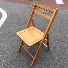 Vintage Wood Chair/ビンテージ ウッドチェア/180319-3