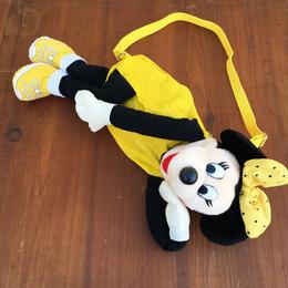 Disney Minnie Mouse Plush Bag/ディズニー ミニーマウス ぬいぐるみバッグ/180114-13