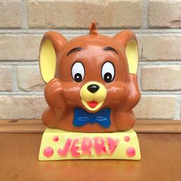 TOM & JERRY Jerry Plastic Bank/トムとジェリー ジェリー ソフビ 貯金箱/170901-3