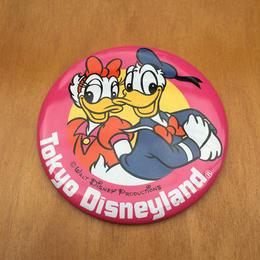Disney Tokyo Disneyland Button/ディズニー 東京ディズニーランド 缶バッジ/171008-3