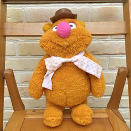 THE MUPPETS Fozzie Bear Plush Doll/ザ・マペッツ フォジー・ベア ぬいぐるみ/171011-4
