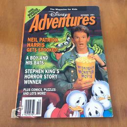 Disney Disney Adventures 1991 October/ディズニー ディズニーアドベンチャー 1991年 10月号/170909-3
