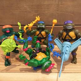 TURTLES Wacky Action Turtles 4pcs Set/タートルズ ワッキーアクションタートルズ 4体セット/180416-13