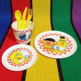 SESAME STREET Mini Pla Tea Set/セサミストリート ティーセット/16015-7