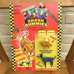 CRASH DUMMIES Hubcat&Bumper Figure/クラッシュダミーズ ハブキャット&バンパー犬 フィギュア/170804-6