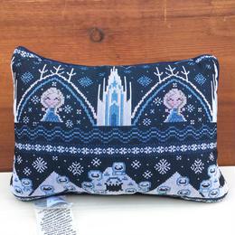 FROZEN Cross Stitch Pillow/アナと雪の女王 クロスステッチピロー/180121-2