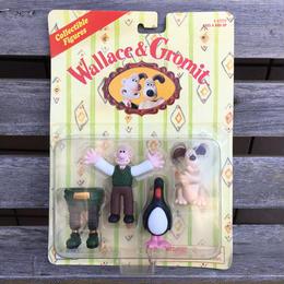 Wallace&Gromit PVC Figure Set/ウォレスとグルミット PVCフィギュア セット/180625-5