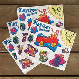 Mcdonald's Play Time Sticker/マクドナルド プレイタイムステッカー/170123-18