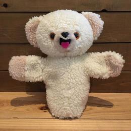 Snuggle Snuggle Bear Hand Puppet/スナグル スナグルベア ハンドパペット/180730-2