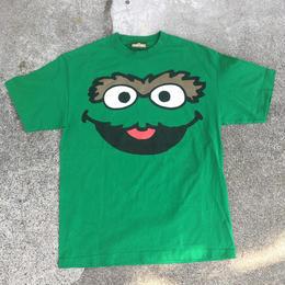 SESAME STREET Oscar T Shirts/セサミストリート オスカー Tシャツ/180603-2