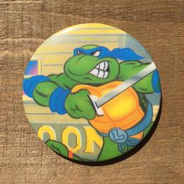 TURTLES Leo Button /タートルズ レオナルド 缶バッジ/170603-4