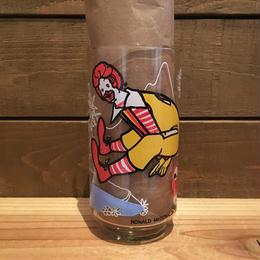 McDonald's Ronald  Action Series Glass/マクドナルド ロナルド アクションシリーズ グラス/180221-4