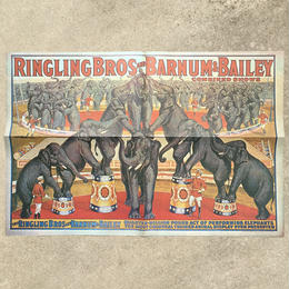 Ringling Bros. and Barnum & Bailey Circus Poster/バーナムのサーカス ポスター/180720-8