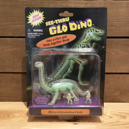 SEE-THRU GLO DINO Brontosaurus Figure/シースルー・グローダイノ ブロントサウルス フィギュア/180610-1