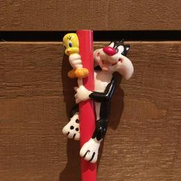 LOONEY TUENS Sylvester&Tweety Figure Pencil/ルーニー・テューンズ シルベスター&トゥイーティー フィギュア鉛筆/171213-16