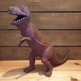 DINOSAUR Tyrannosaurus Rubber Toy/恐竜 ティラノサウルス ラバートイ/180511-2