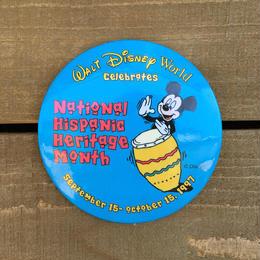 Disney 1997 NHHM Button/ディズニー 1997年 NHHM 缶バッジ/170311-4
