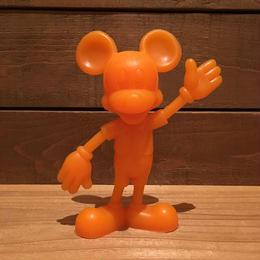 Disney Mickey Mouse Plastic Figure/ディズニー ミッキーマウス プラスチックフィギュア/181005-14