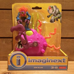 imaginext Ion Slug Figure/イマジネクスト イオンスラッグ フィギュア/180108-1