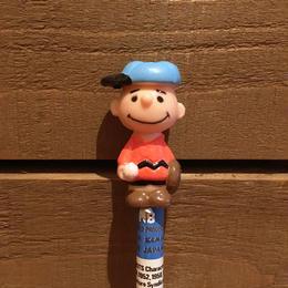 PEANUTS Charlie Brown Figure Pencil/ピーナッツ チャーリー・ブラウン フィギュア鉛筆/171213-19