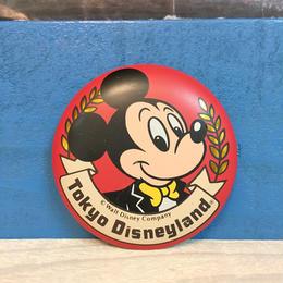 Disney Tokyo Disneyland Button/ディズニー 東京ディズニーランド 缶バッジ/171013-7