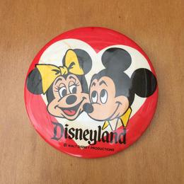 Disney Mickey&Minnie Disneyland Button/ディズニー ミッキー&ミニー ディズニーランド 缶バッジ/170813-1