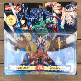 MARVEL TEAM UP Peter Parker VS Wolverine/マーベルチームアップ ピーター・パーカーVS ウルヴァリン フィギュア/170529-12