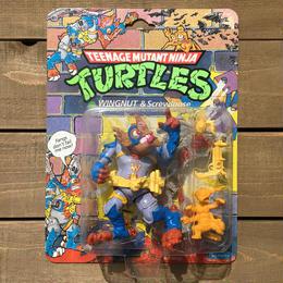 TURTLES Wingnut & Screwloose/タートルズ ウィングナット&スクリュールーズ フィギュア/170413-2