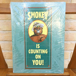 SMOKEY BEAR Smokey Bear Tray Puzzle/スモーキーベア トレイパズル/170902-4