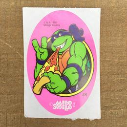 TURTLES Donatello Sticker/タートルズ ドナテロ ステッカー/170606-6